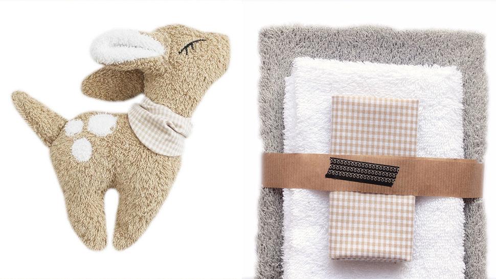 Nähset Kuscheltier hellgrau von Naturfaden Design im Makerist Materialshop - Bild 1
