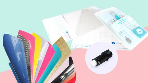 XL Starter-Set SILHOUETTE Portrait 2  im Makerist Materialshop