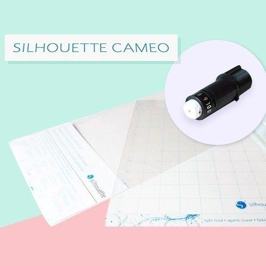 Starter-Set Hobbyplotter Silhouette Cameo 3 im Makerist Materialshop - Bild 1