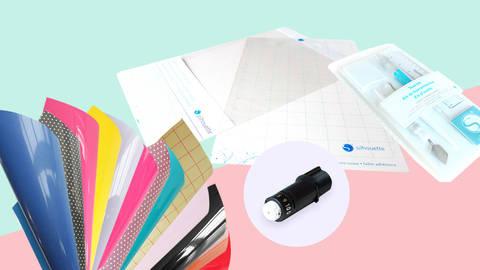 XL Starter-Set Hobbyplotter Silhouette Cameo 3 im Makerist Materialshop