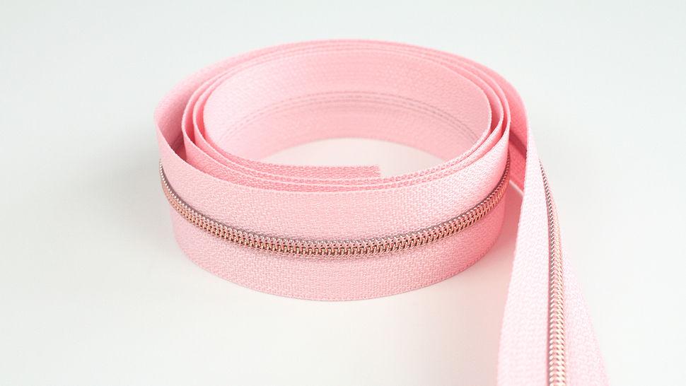 Fermeture à glissière sans fin : rose cuivré - 4 mm dans la mercerie Makerist - Image 1