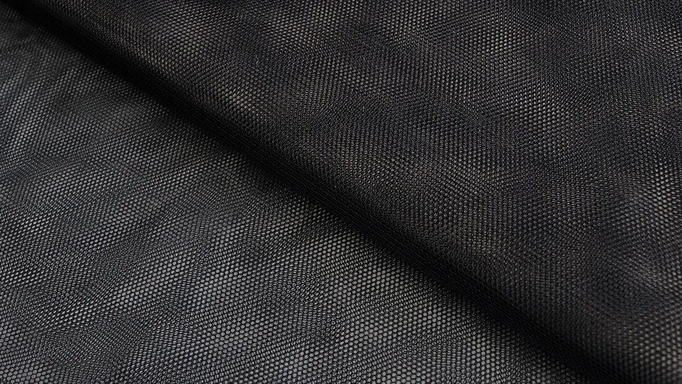 Tüllstoff schwarz - 160 cm im Makerist Materialshop - Bild 1