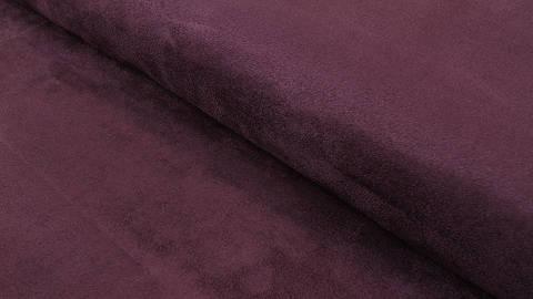 Faux suède/velours aubergine - 150 cm dans la mercerie Makerist