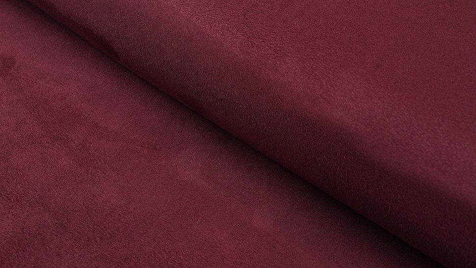 Faux suède/velours bordeaux - 150 cm dans la mercerie Makerist - Image 1