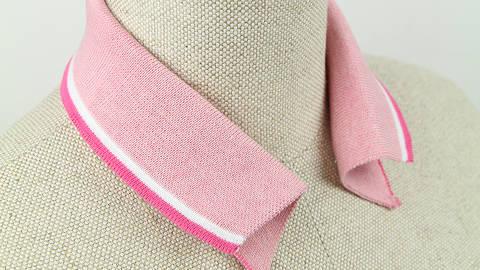 Polokragen -  rosa pink im Makerist Materialshop