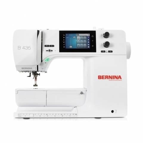 Nähmaschine BERNINA B 435 mit Vollschaft-Füßen im Makerist Materialshop