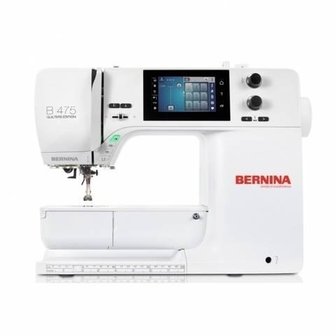 Nähmaschine BERNINA B 475 QE mit Vollschaft-Füßen im Makerist Materialshop