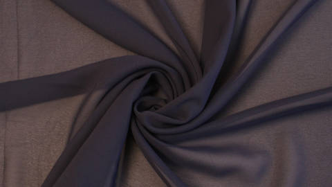 Chiffonstoff navy - 150 cm im Makerist Materialshop