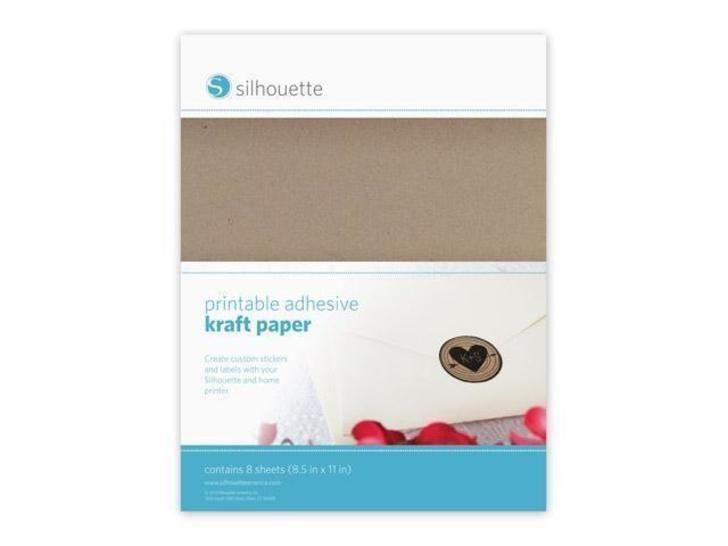 Bedruckbares Packpapier selbstklebend - 21,6 cm x 28 cm im Makerist Materialshop - Bild 1