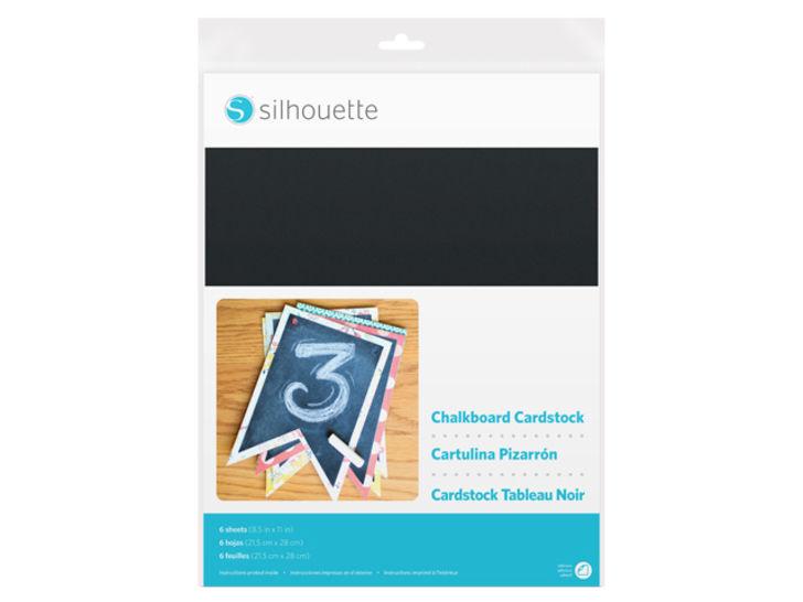 Kreidetafel Fotokarton selbstklebend von Silhouette - 21,5 cm x 28 cm im Makerist Materialshop - Bild 1