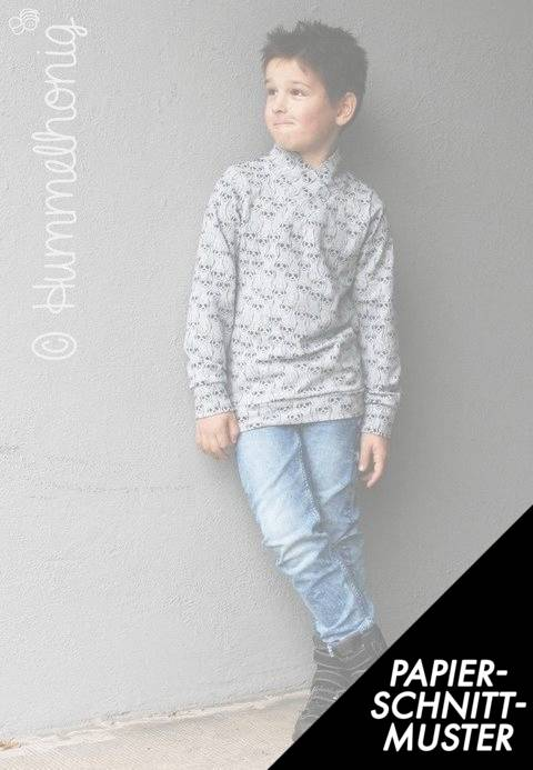 Gedrucktes Schnittmuster für: Sweater (Gr. 86 - 158) Schnittmuster im Makerist Materialshop