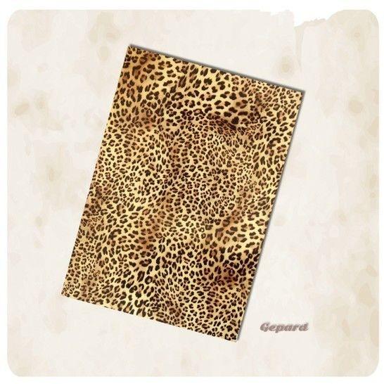 Flexfolie zum Plotten:  Fellmuster - DIN A4 - Leopard im Makerist Materialshop - Bild 1