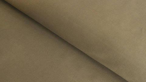 Baumwollstoff olivgrün uni: Heide - 150 cm im Makerist Materialshop