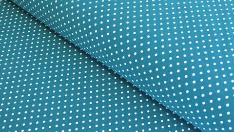 Jersey de coton bleu pétrole : Verena - 160cm dans la mercerie Makerist