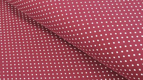 Jersey de coton bordeaux : Verena - 160cm dans la mercerie Makerist