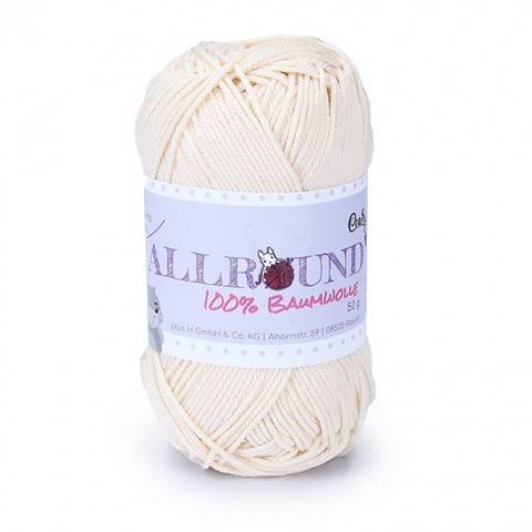 0106 natur Allround von CraSy Wolle ca. 125 m 50 g im Makerist Materialshop