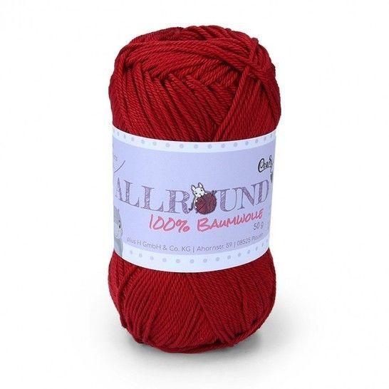0209 weinrot Allround von CraSy Wolle ca. 125 m 50 g im Makerist Materialshop - Bild 1