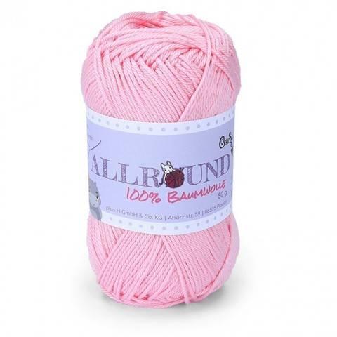 0210 rosa Allround von CraSy Wolle ca. 125 m 50 g im Makerist Materialshop