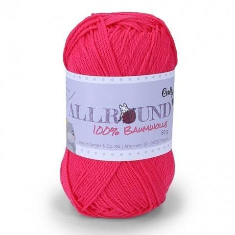 0212 kirsche Allround von CraSy Wolle ca. 125 m 50 g im Makerist Materialshop