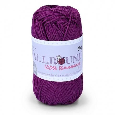 0310 violett Allround von CraSy Wolle ca. 125 m 50 g im Makerist Materialshop