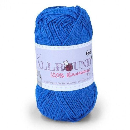 0313 royal Allround von CraSy Wolle ca. 125 m 50 g im Makerist Materialshop - Bild 1