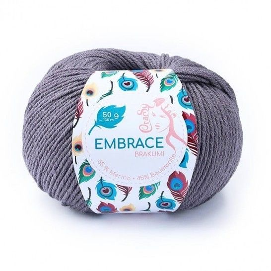 Brakumi Embrace von CraSy Wolle ca. 130 m 50 g im Makerist Materialshop - Bild 1