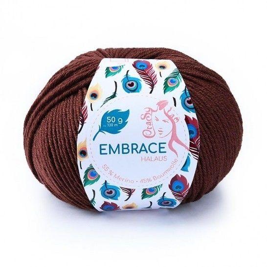 Halaus Embrace von CraSy Wolle ca. 130 m 50 g im Makerist Materialshop - Bild 1
