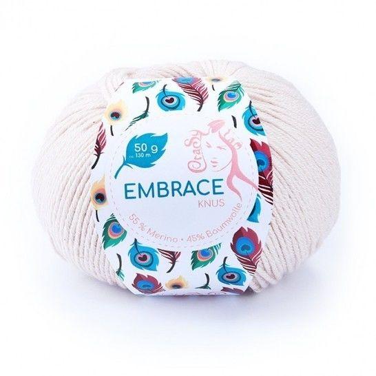 Knus Embrace von CraSy Wolle ca. 130 m 50 g im Makerist Materialshop - Bild 1