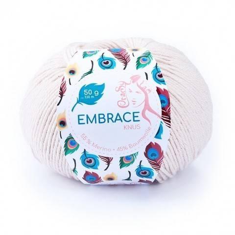 Knus Embrace von CraSy Wolle ca. 130 m 50 g im Makerist Materialshop