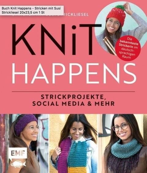 Knit Happens - Stricken mit Susi Strickliesel - Buch im Makerist Materialshop