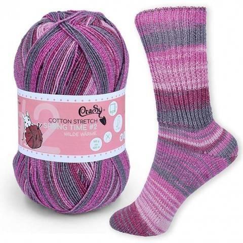 CraSy Sockenwolle: Wilde Wärme im Makerist Materialshop