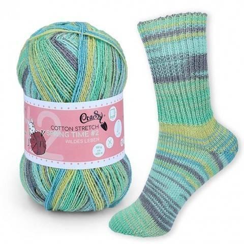 CraSy Sockenwolle: Wildes Leben im Makerist Materialshop