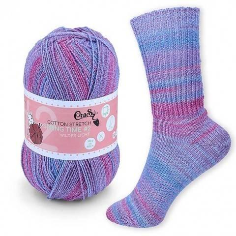 CraSy Sockenwolle: Wildes Licht im Makerist Materialshop