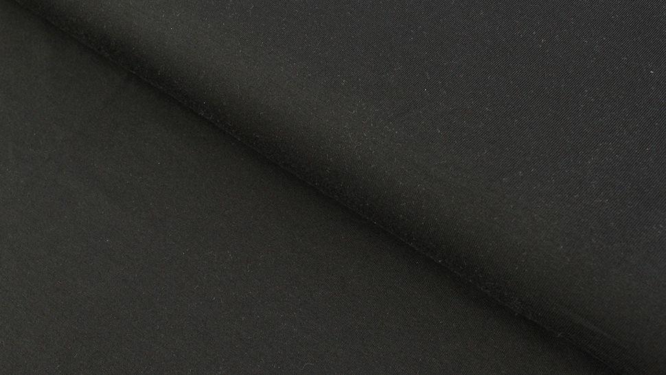Modalstoff schwarz uni - 145 cm im Makerist Materialshop - Bild 1
