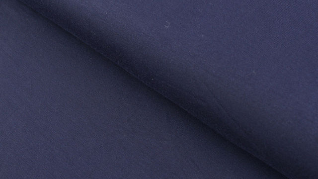 Modalstoff navy uni - 145 cm im Makerist Materialshop - Bild 1