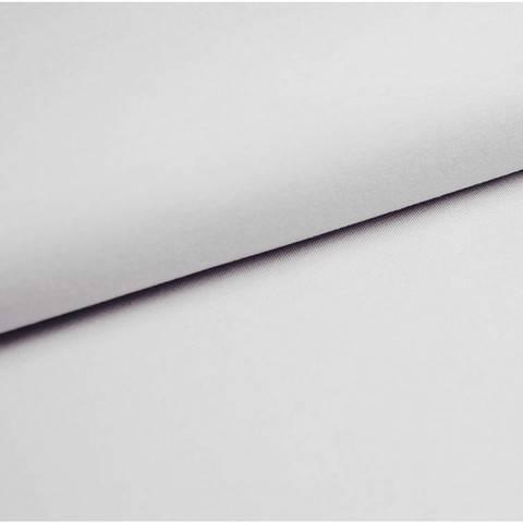 Bündchenstoff Uni: weiß - 35 cm im Makerist Materialshop