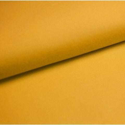 Bündchenstoff Uni: mais - 35 cm im Makerist Materialshop