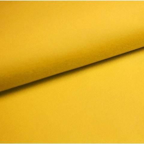 Bündchenstoff Uni: sonne - 35 cm im Makerist Materialshop