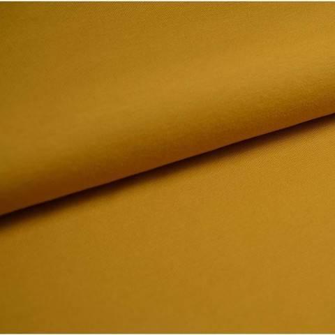 Bündchenstoff Uni: senf - 35 cm im Makerist Materialshop