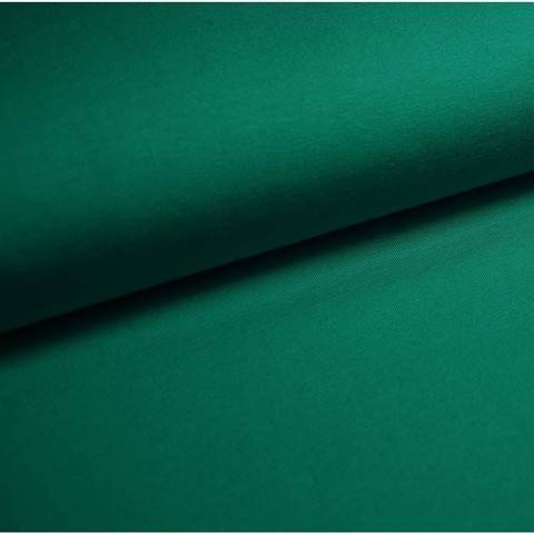 Bündchenstoff Uni: petrol - 35 cm im Makerist Materialshop