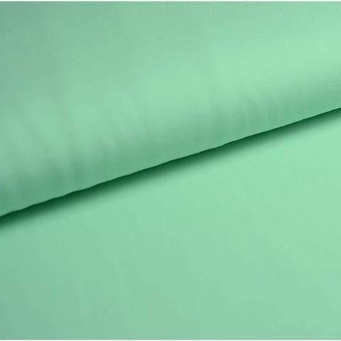 Bündchenstoff Uni: mint - 35 cm im Makerist Materialshop