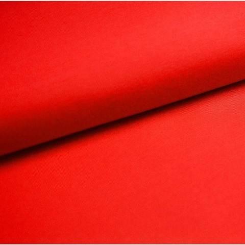 Bündchenstoff Uni: signalrot - 35 cm im Makerist Materialshop