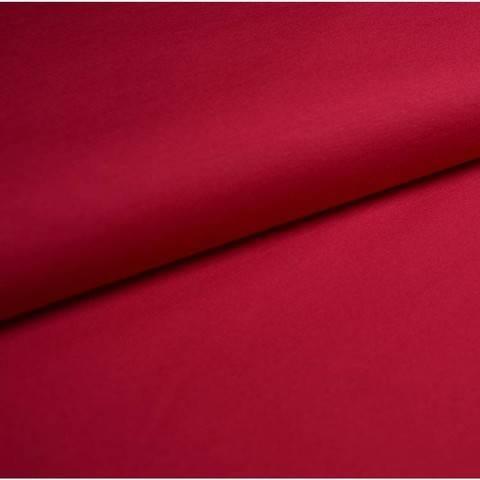 Bündchenstoff Uni: himbeere - 35 cm im Makerist Materialshop