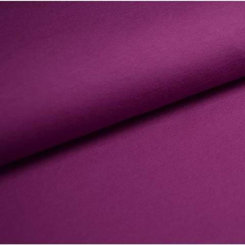 Bündchenstoff Uni: violett - 35 cm im Makerist Materialshop