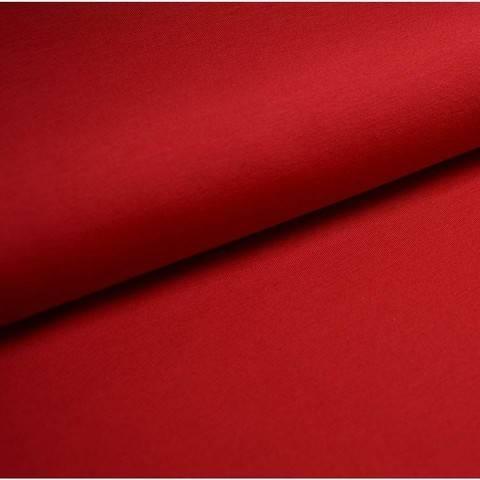 Bündchenstoff Uni: dunkelrot - 35 cm im Makerist Materialshop