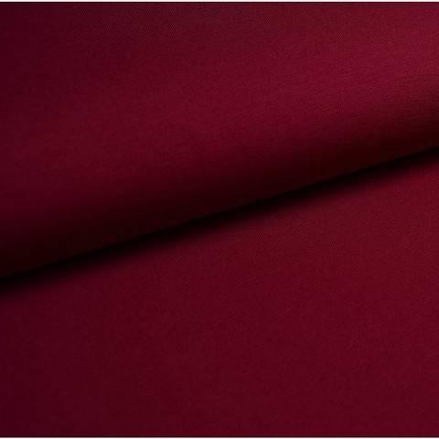 Bündchenstoff Uni: bordeaux - 35 cm im Makerist Materialshop