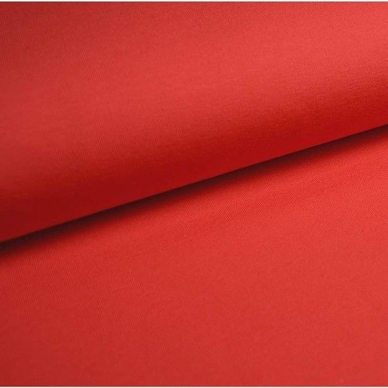Bündchenstoff Uni: koralle - 35 cm im Makerist Materialshop - Bild 1