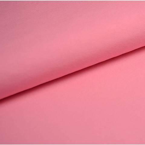 Bündchenstoff Uni: rosa - 35 cm im Makerist Materialshop