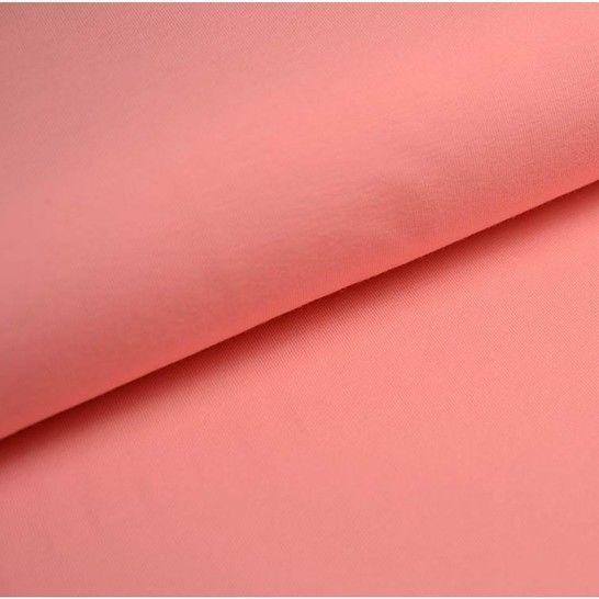 Bündchenstoff Uni: flamingo - 35 cm im Makerist Materialshop - Bild 1