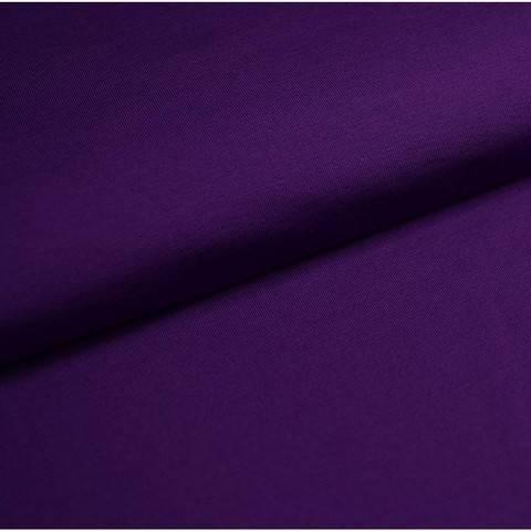 Bündchenstoff Uni: lila - 35 cm im Makerist Materialshop